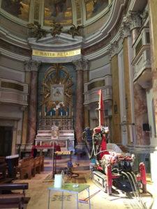Sondaggi geologici per messa in sicurezza di una chiesa nelle marche